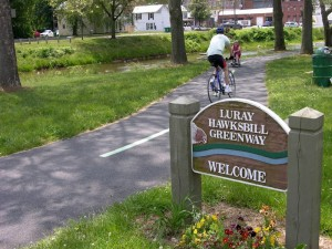 Biking on the Greenway