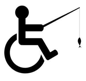 handicap fishing logo