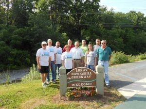 VF Jeanswear Donation to Hawksbill Greenway Foundation
